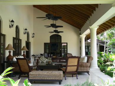 Kolonialstil-Villa