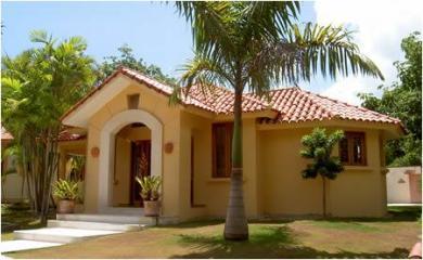 Villas en zona residencial tranquila