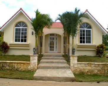 villas luxe dans un quartier résidentiel