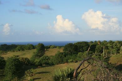 Parcela Desarrollo ladera con una increíble vista al mar