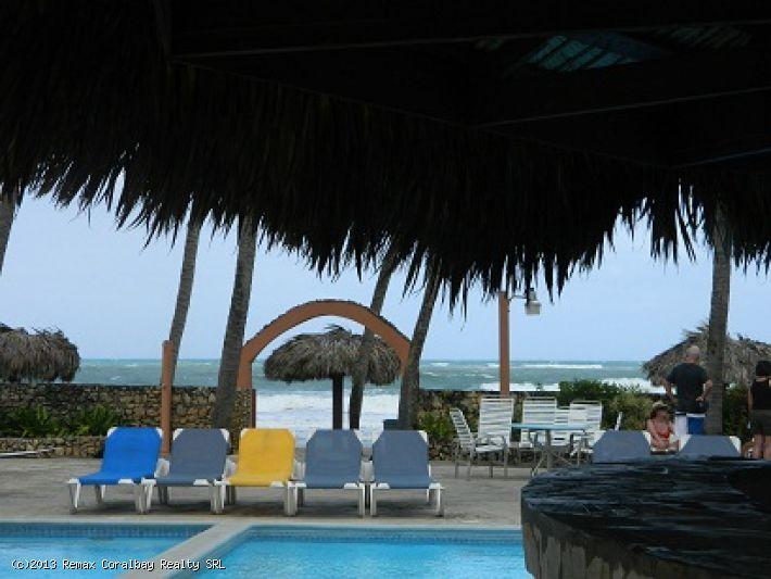 Blick auf den Strand / Meer Wohnung