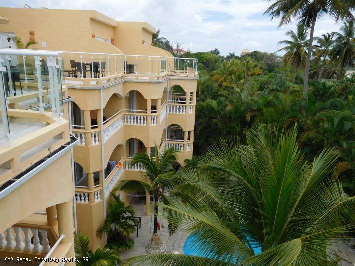 Hotel de lujo frente al mar en Cabarete